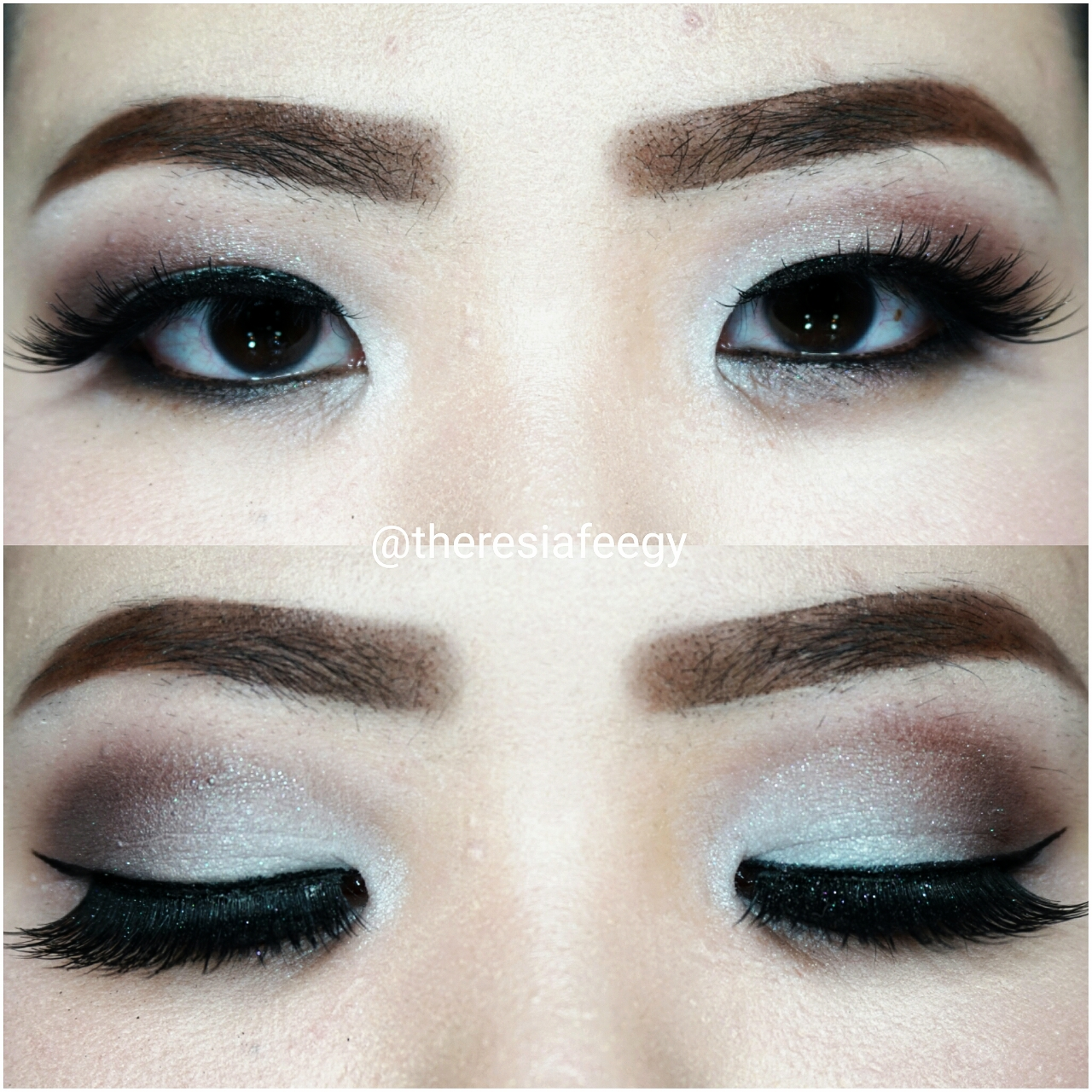 sephora makeup academy palette. a soft brown romantic inspired look makeup tutorial with sephora academy palette sephora makeup academy palette