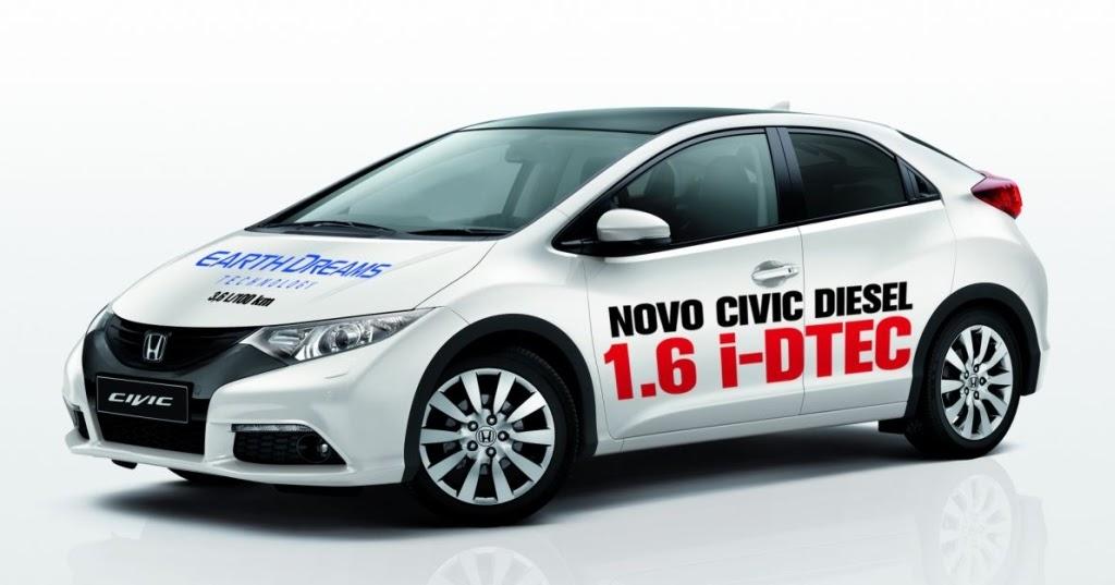 apresenta o honda civic 1 6 diesel chega a portugal em janeiro portal do autom vel. Black Bedroom Furniture Sets. Home Design Ideas