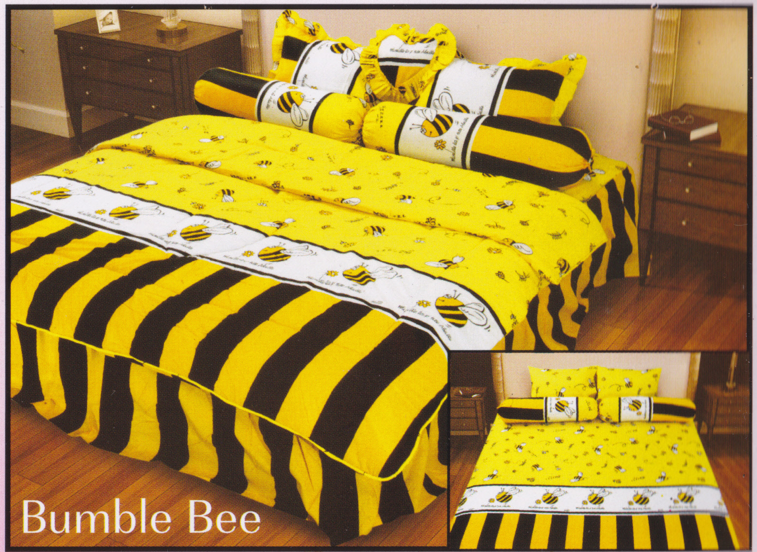 Sprei Belladona Bumble Bee Toko Online Bed Cover Murah Jual