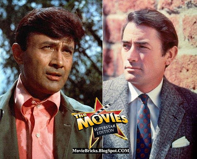 Dev Anand, Gregory Peck