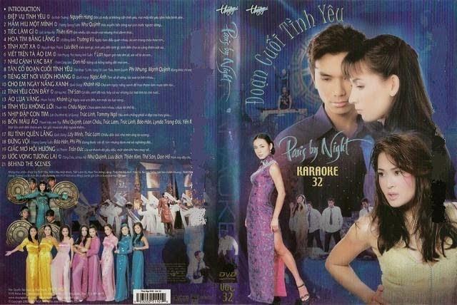 PBN Karaoke 32: Đoạn Cuối Tình yêu (DVD9)