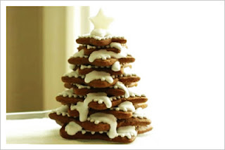 Sapin de Noël aux deux chocolats