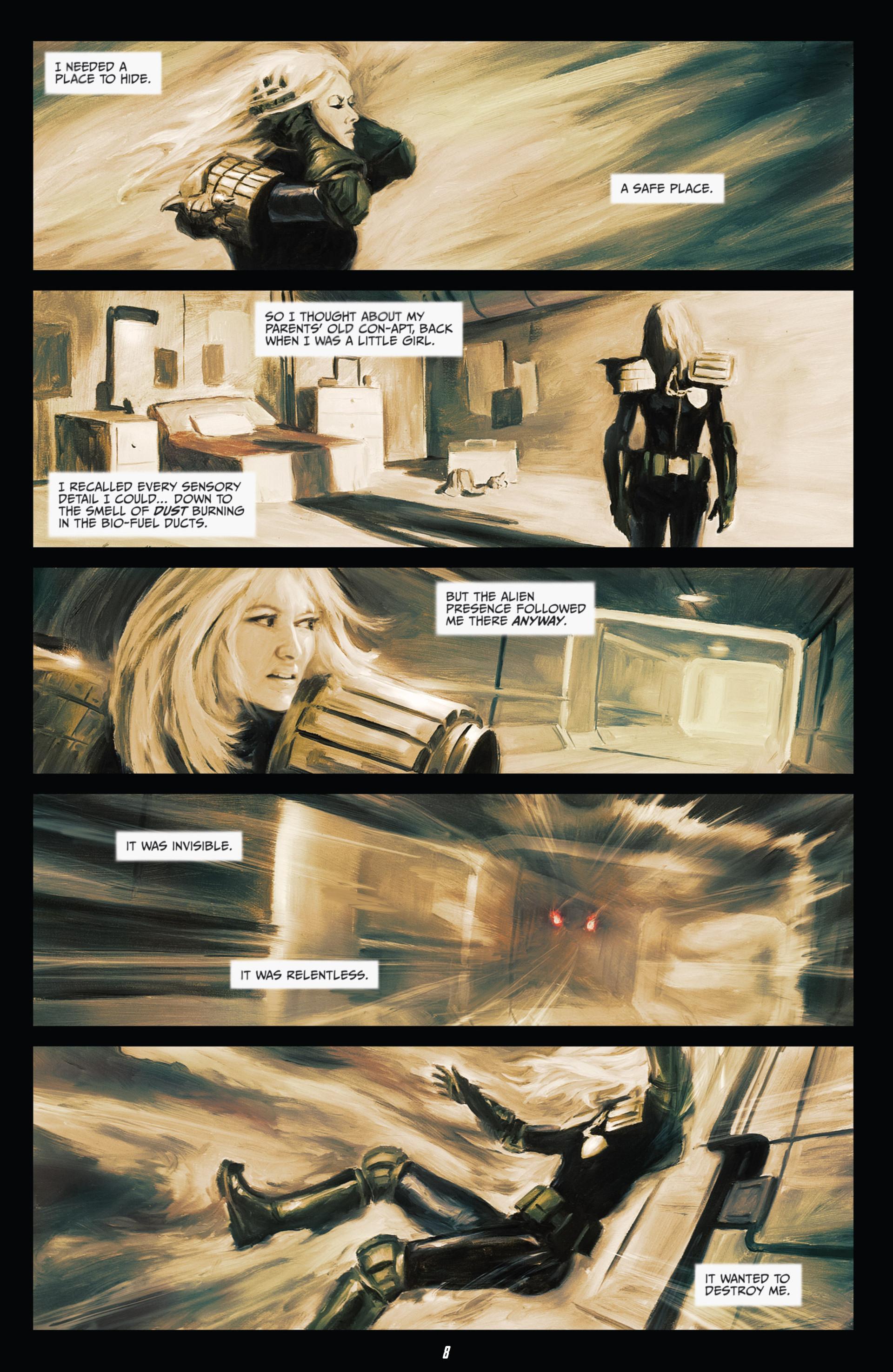 Read online Judge Dredd (2012) comic -  Issue #21 - 10