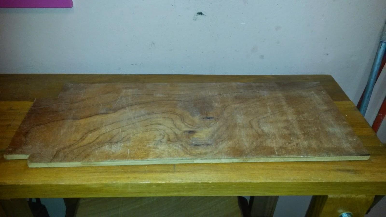 Oficina do Quintal: Como fazer um aparador com restos de madeira #5C4D24 1600x900