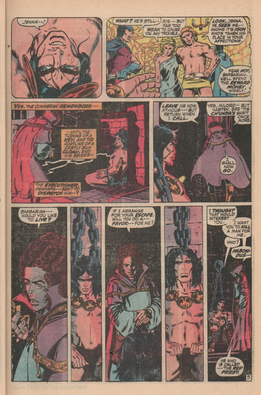 Conan the Barbarian (1970) Issue #11 #23 - English 7