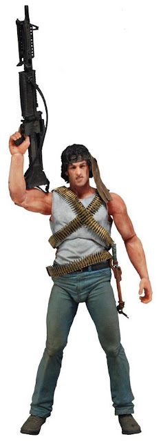 "NECA 7"" Rambo First Blood figure"