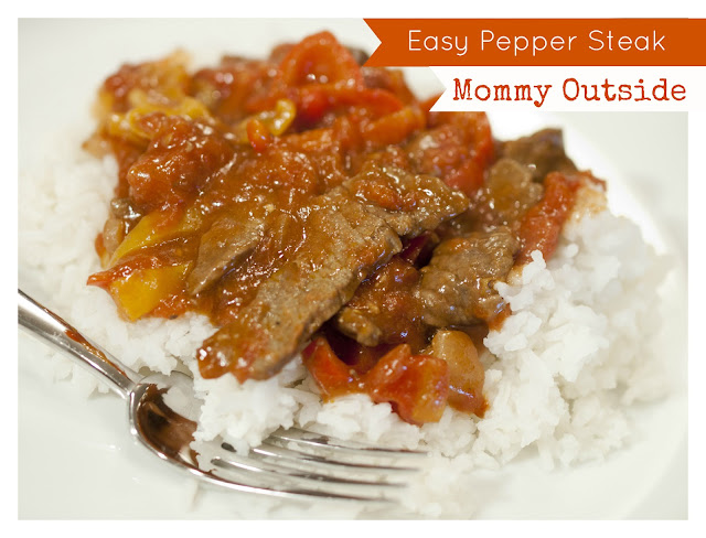 Outside The Box: Easy, Delicious, Healthy - Pepper Steak Recipe