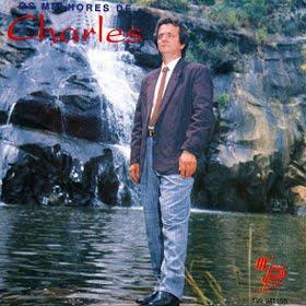 """Capa do CD """"Os Melhores do cantor Charles Meira"""""""