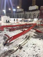 Kecelakaan di Masjidil Haram Makkah