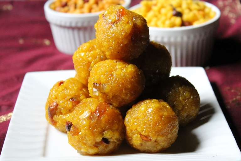 Boondi Ladoo Recipe / Boondi Laddu Recipe