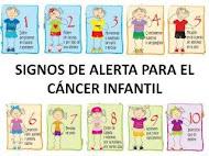 signos de alerta para el cáncer infantil