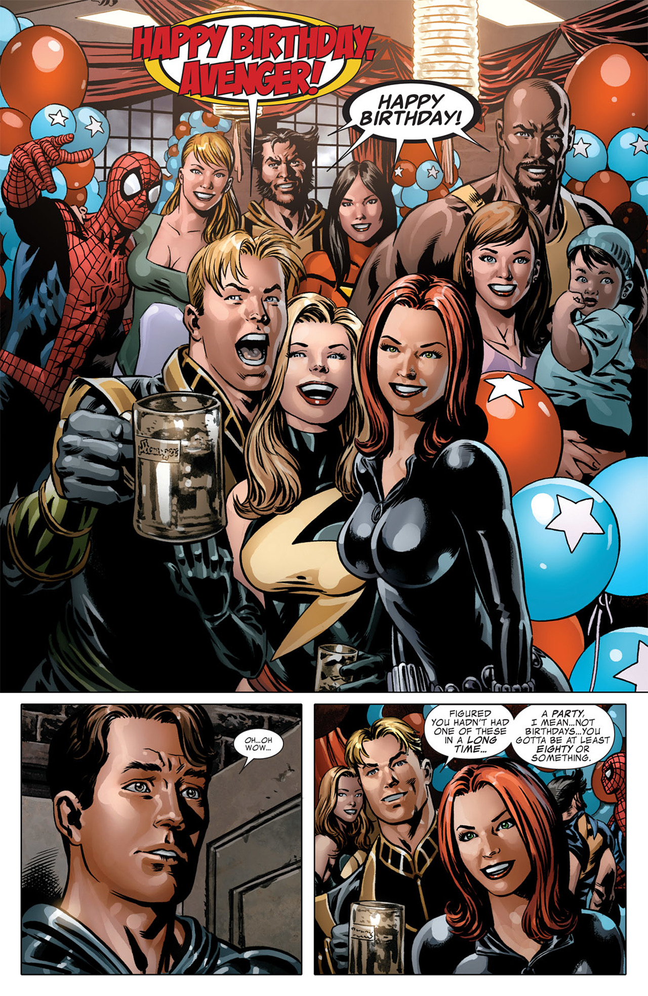 Captain America (2005) Issue #50 #50 - English 23