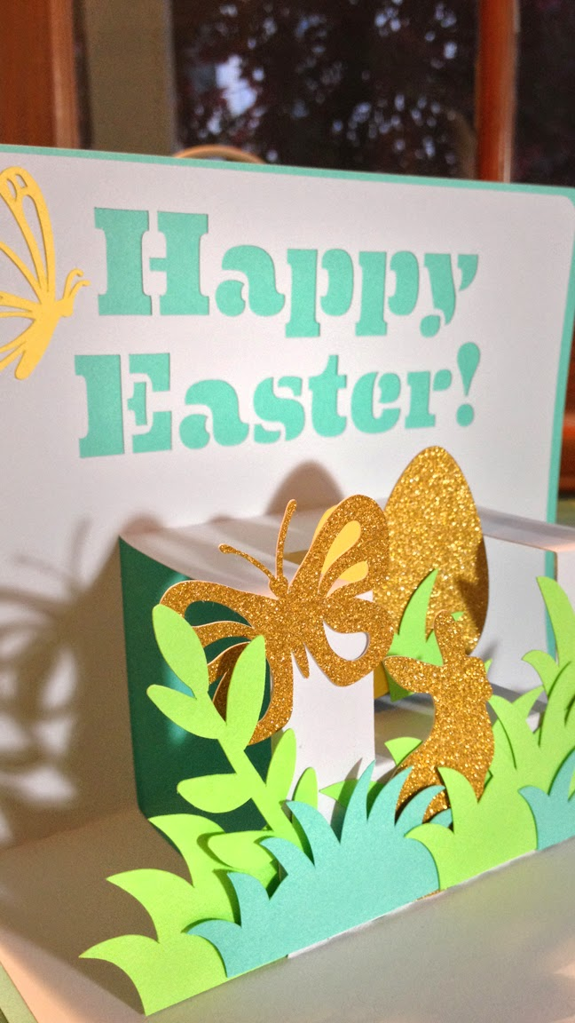 Sophie Gallo Design Blog Pop Up Cards in my Silhouette Store – Make Your Own Easter Cards