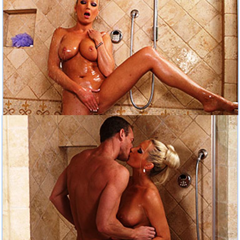 мама и сын в душ порно: