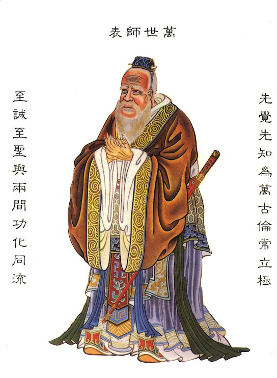 Who is Confucius but Moses speaking Chinese?