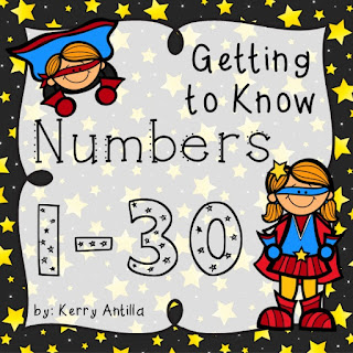 https://www.teacherspayteachers.com/Product/Getting-to-Know-Numbers-1-30-287257