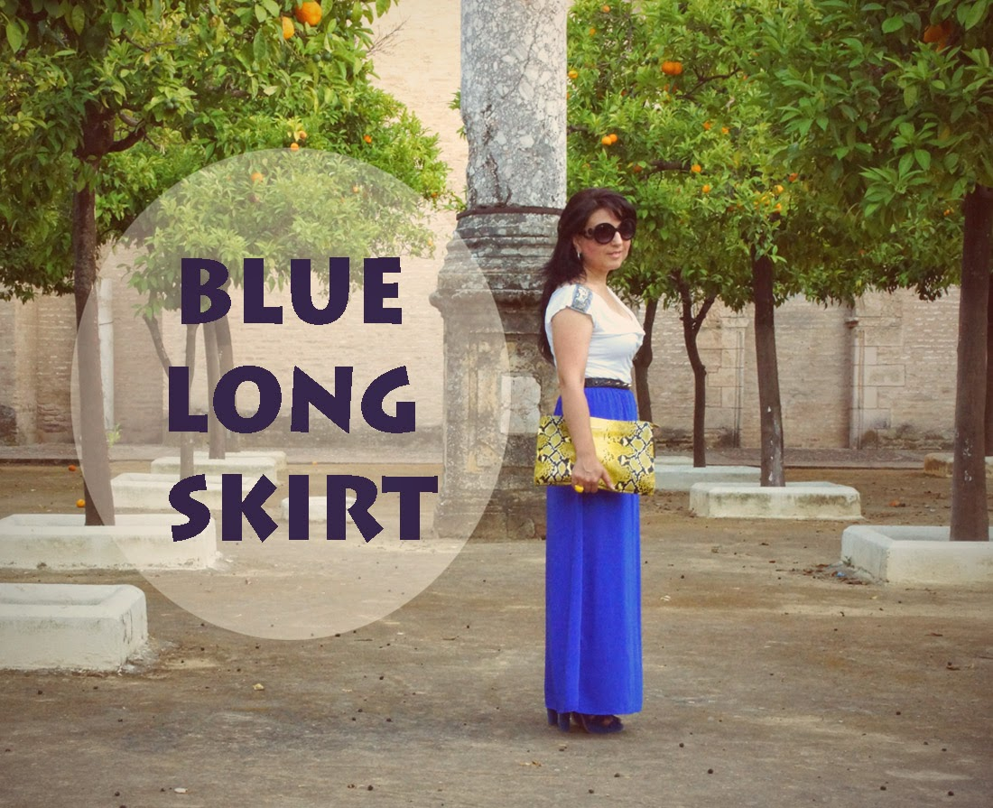 blue+long+skirt