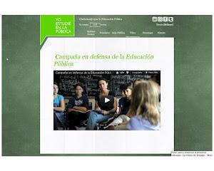 Campaña por una educación pública