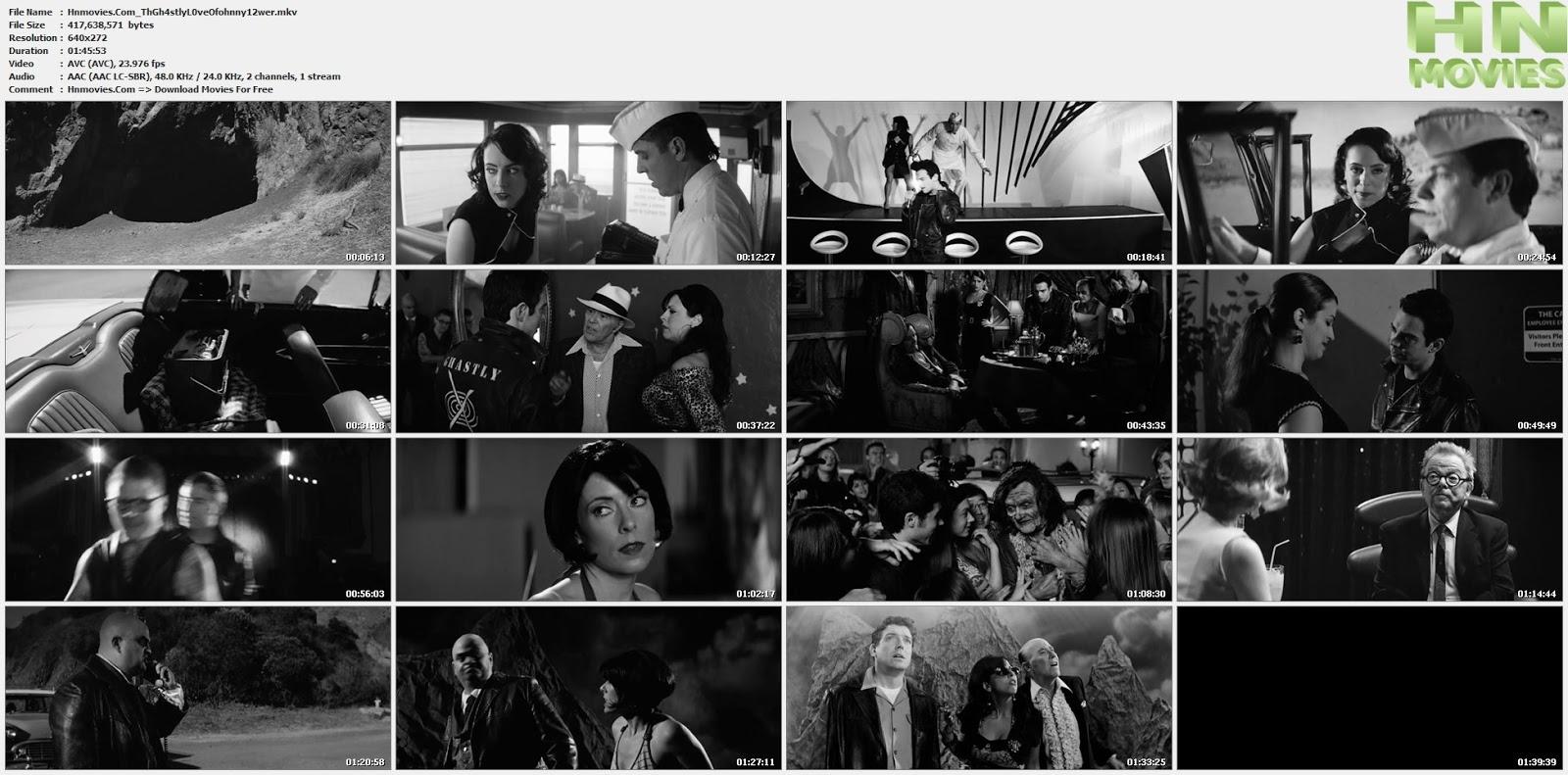 movie screenshot of The Ghastly Love Of Johnny X fdmovie.com