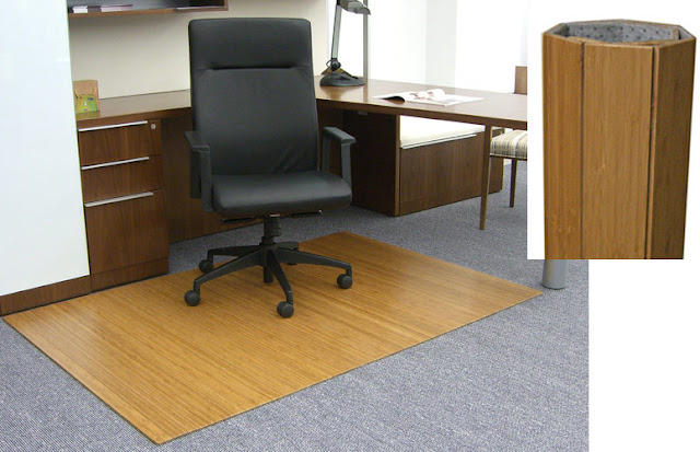 Bamboo Office Mat6