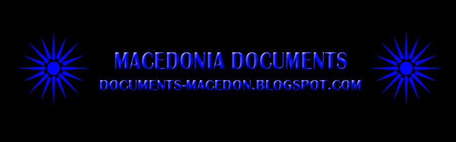 Macedonia Documents