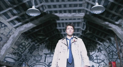 Castiel angel of the lord in Supernatural