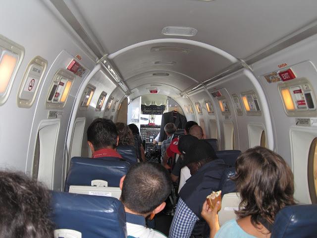 Avión Málaga - Lisboa de la TAP