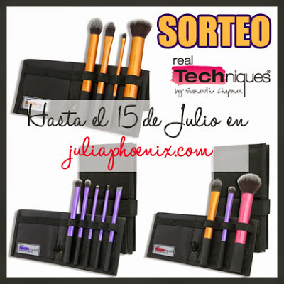 ¡ SORTEO 3 PACKS DE REAL TECHNIQUES ! International, ends 15 July