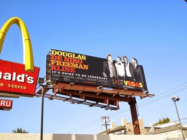 Last Vegas movie billboard