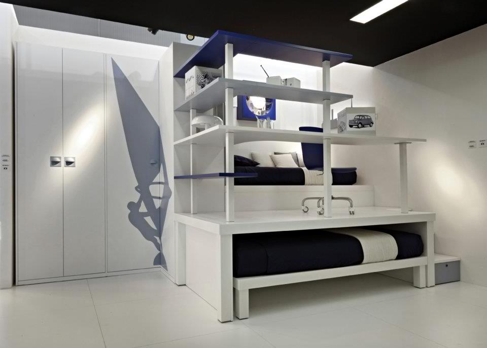 13 cool boys bedroom for Funky boys bedroom ideas