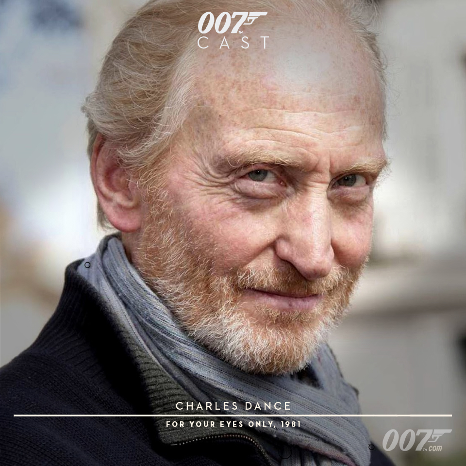 Charles dance for your eyes only
