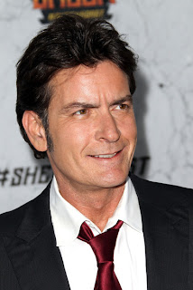Charlie Sheen is thrilled to be a grandfather