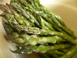 how to cook asparagus without foil