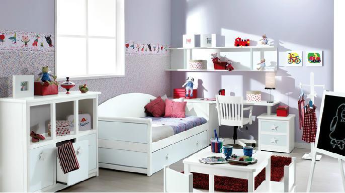 Marzua consejos sobre c mo decorar un dormitorio infantil - Como decorar un cuarto pequeno ...
