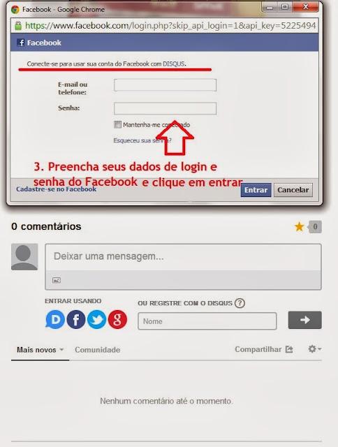 imagem 2 - tutorial - aprenda a usar o Disqus com o Facebook