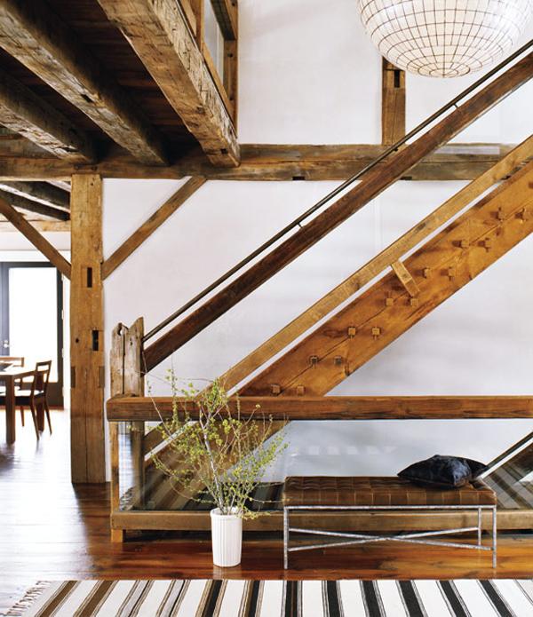 la maison boheme rustic barn house tour