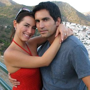 Claudia Lizaldi y Eamonn