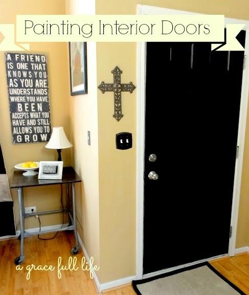 Painted Interior Doors Pinterest Painting Interior Doors