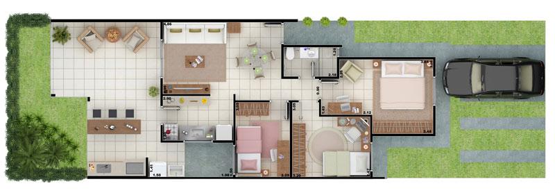 planta baixa casa de dois quartos planta baixa casa de duas suites