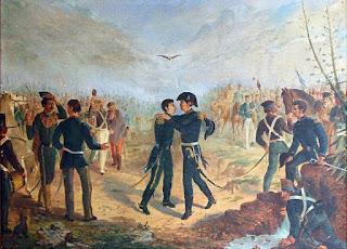 Encuentro de San Martín y Manuel Belgrano