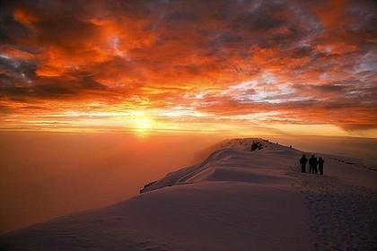 10 foto sunrise terbaik di dunia