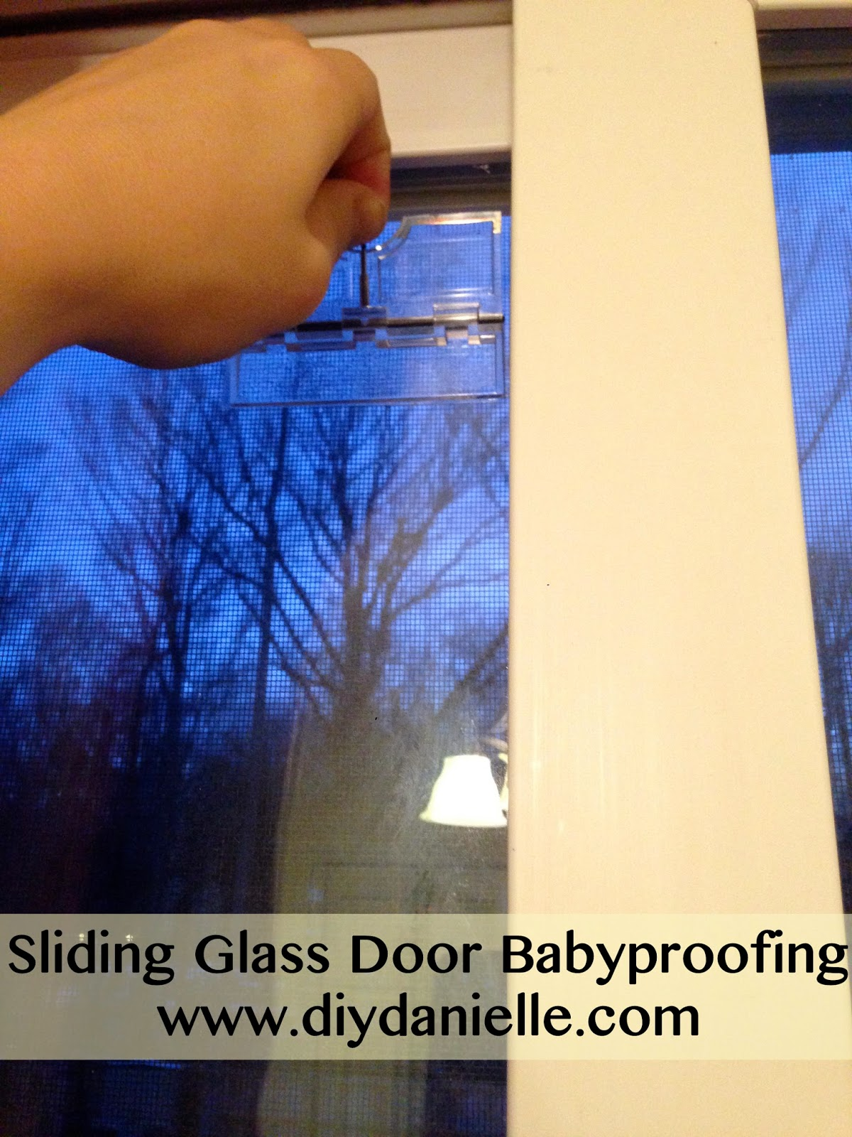 Review of an item we used to baby proof our sliding glass door