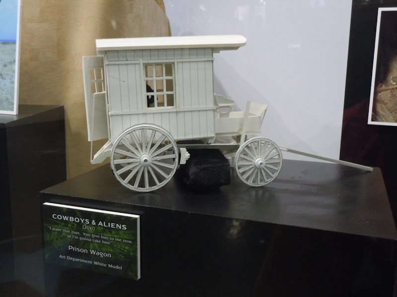 Prison wagon model Cowboys and Aliens