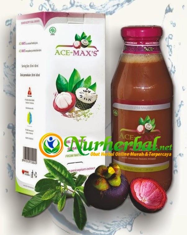 Ace Maxs Herbal Kulit Manggis dan Daun Sirsak