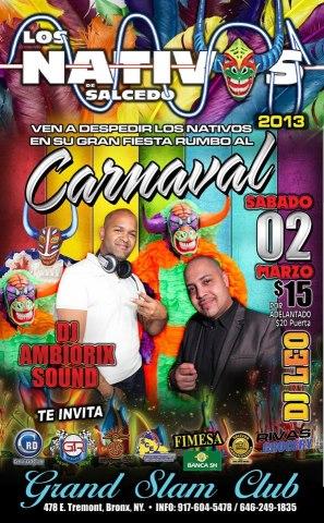 FIESTA DE CARNAVAL LOS NATIVOS 2013
