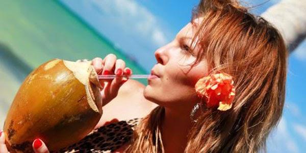 Cara Sehat Dengan Mengkonsumsi Air Kelapa