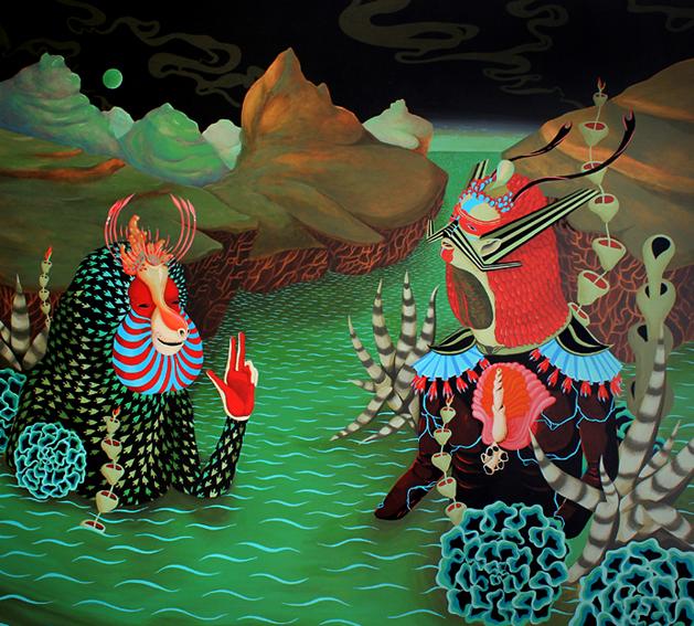 bruno9li psychedelic art