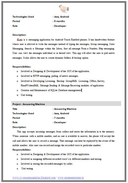 Best engineer resume format
