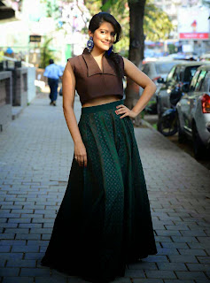 Vishakha Singh Stills at Tamanna and Shruti SS Collection Launch 3.jpg