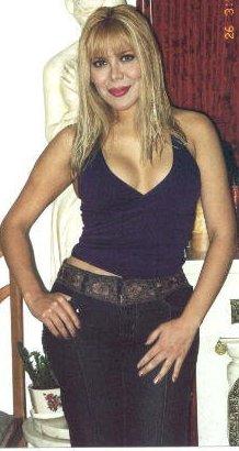 Desiree Acosta con unos años menos